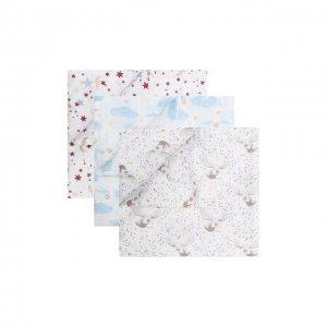 Комплект из 3-х пеленок Aden+Anais. Цвет: разноцветный