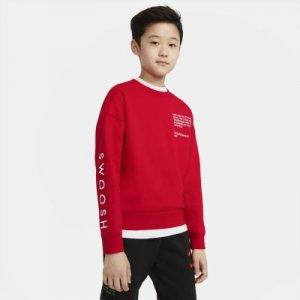 Свитшот для мальчиков школьного возраста Sportswear Swoosh - Красный Nike