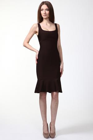 Платье Herve L.Leroux. Цвет: коричневый