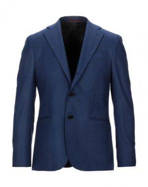 Пиджак SARTITUDE Napoli. Цвет: синий