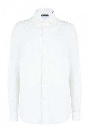 Рубашка CORNELIANI. Цвет: белый