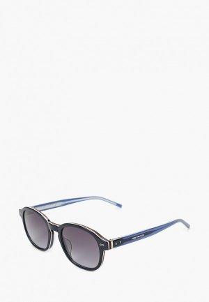 Очки солнцезащитные Tommy Hilfiger TH 1850/G/S PJP. Цвет: синий