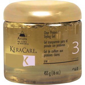 Гель для волос Protein Styling Gel (Clear) (473 мл) KeraCare