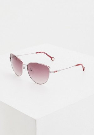 Очки солнцезащитные Carolina Herrera 140-A88. Цвет: серебряный