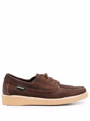 Топсайдеры Dockside на шнуровке Sebago. Цвет: коричневый