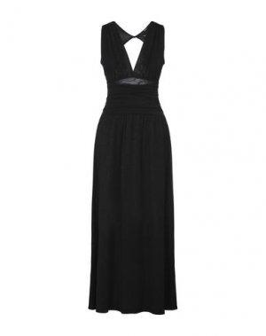 Длинное платье SISTE' S. Цвет: черный