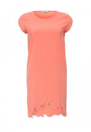 Платье BeaYukMui. Цвет: коралловый