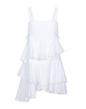 Короткое платье CHARO RUIZ IBIZA. Цвет: белый