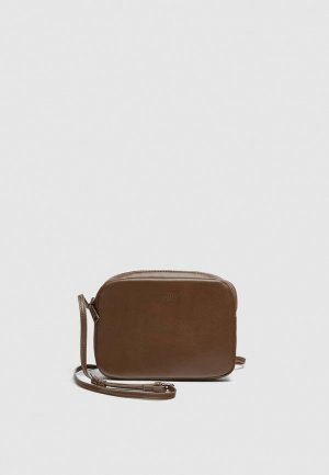 Сумка Pull&Bear. Цвет: коричневый