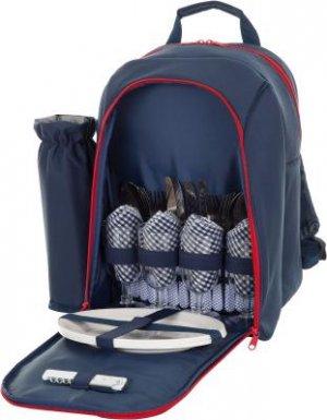 Пикниковый рюкзак на 4 человека Outventure. Цвет: синий