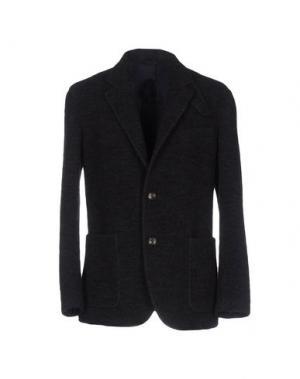 Пиджак UMIT BENAN. Цвет: темно-коричневый