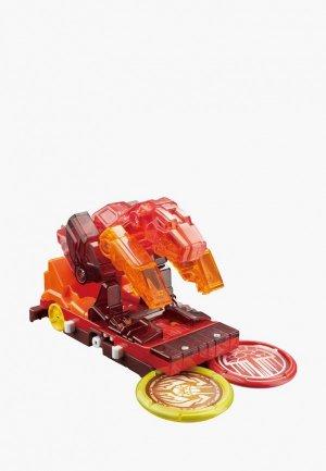 Игрушка Росмэн Дикие Скричеры. Машинка-трансформер Ла.Ва л5. ТМ Screechers Wild. Цвет: красный
