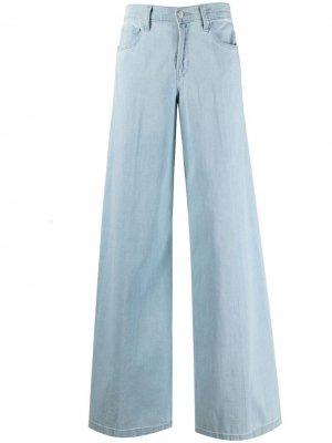Широкие джинсы J Brand. Цвет: синий