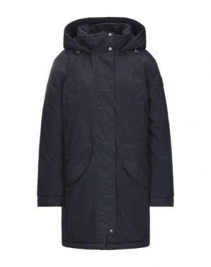 Пальто NAPAPIJRI. Цвет: темно-синий