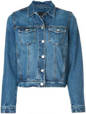 Джинсовая куртка Nobody Denim. Цвет: синий