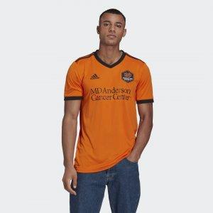 Домашняя игровая футболка Хьюстон Динамо 21/22 Performance adidas. Цвет: оранжевый