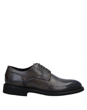Обувь на шнурках CAMPANILE. Цвет: стальной серый
