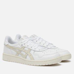 Женские кроссовки Japan S ASICS. Цвет: белый