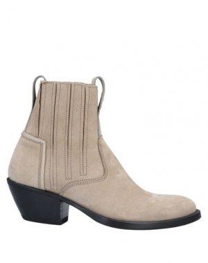 Полусапоги и высокие ботинки BRUNO BORDESE. Цвет: песочный