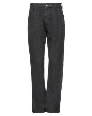 Повседневные брюки HTC. Цвет: стальной серый