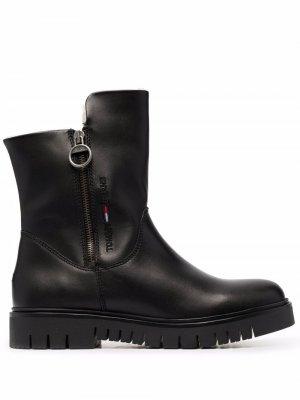 Ботинки с меховой подкладкой Tommy Jeans. Цвет: черный
