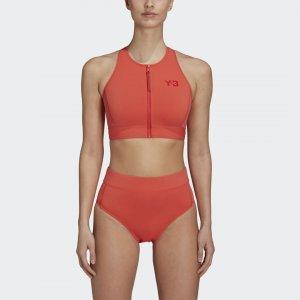 Плавательный топ Y-3 Logo by adidas. Цвет: оранжевый