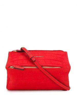 Сумка через плечо Pandora Givenchy. Цвет: красный
