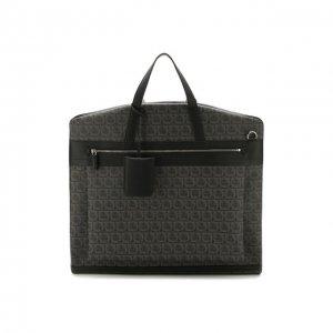 Дорожная сумка Salvatore Ferragamo. Цвет: серый