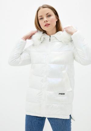Куртка утепленная Allegri. Цвет: белый