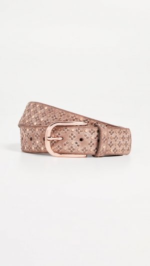 Rose Gold Stud Belt B.