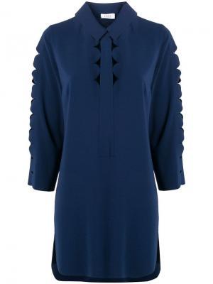 Блузка с вырезами Akris Punto