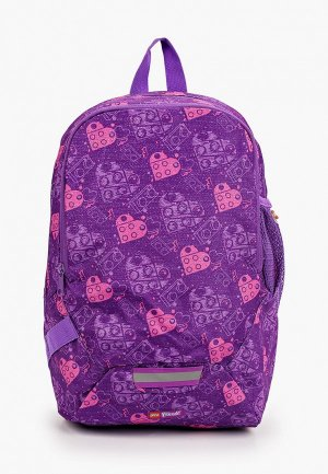 Рюкзак LEGO. Цвет: фиолетовый