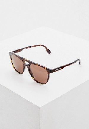 Очки солнцезащитные Burberry 0BE4302 300273. Цвет: коричневый
