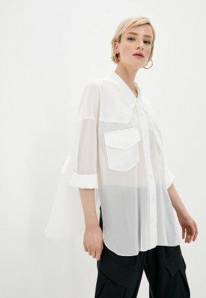 Блуза High. Цвет: белый