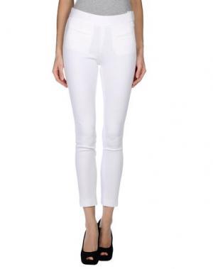 Повседневные брюки CATHERINE MALANDRINO. Цвет: белый