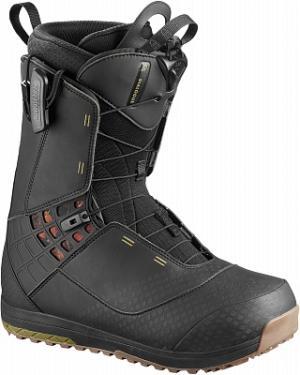 Сноубордические ботинки Dialogue, размер 44 Salomon. Цвет: черный