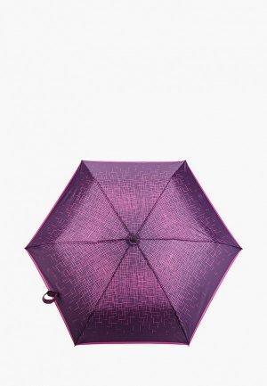 Зонт складной Doppler , система двойной антиветер. Цвет: фиолетовый