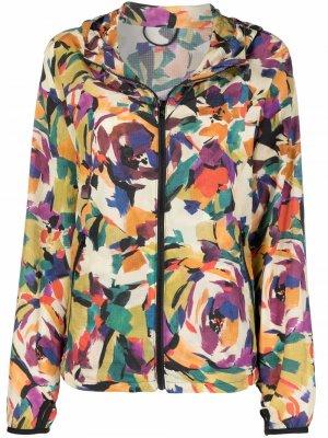 Куртка с графичным принтом Kenzo. Цвет: нейтральные цвета