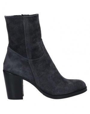 Полусапоги и высокие ботинки J|D JULIE DEE. Цвет: свинцово-серый