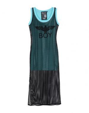 Длинное платье BOY LONDON. Цвет: небесно-голубой