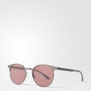 Очки Солнцезащитные Originals adidas. Цвет: серый