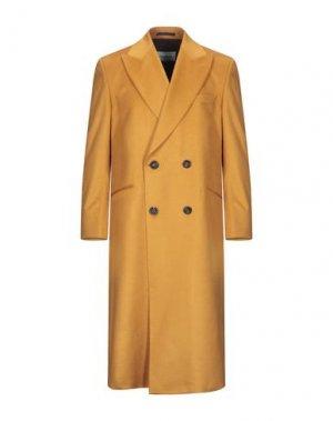 Пальто CASABLANCA. Цвет: охра