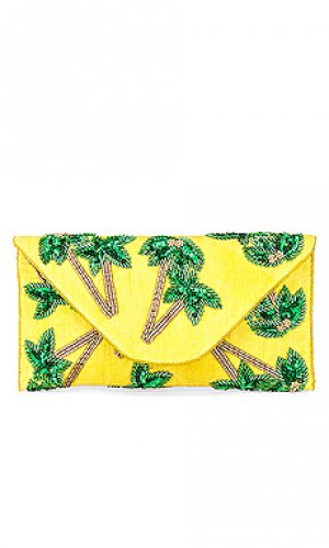 Клатч tropical From St Xavier. Цвет: желтый