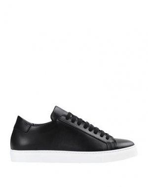Кеды и кроссовки ARTIGIANI AURELIO GIOCONDI. Цвет: черный