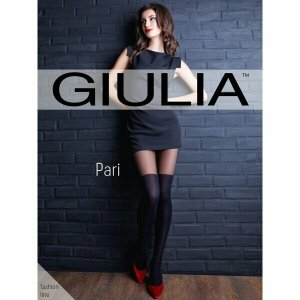 Колготки с имитацией чулка, ботфорт, 60 den Giulia