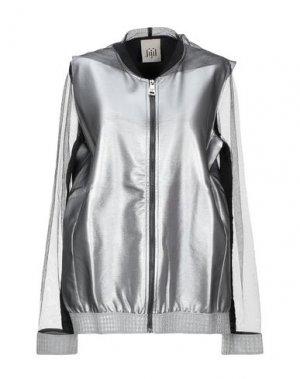 Куртка JIJIL. Цвет: серебристый