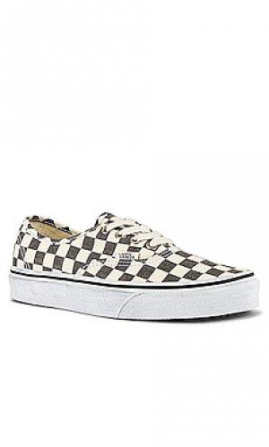 Низкие кроссовки Vans. Цвет: черный