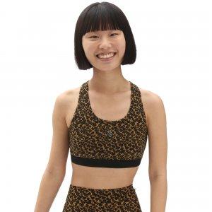 Топ Strauberry Leopard Bralette VANS. Цвет: коричневый