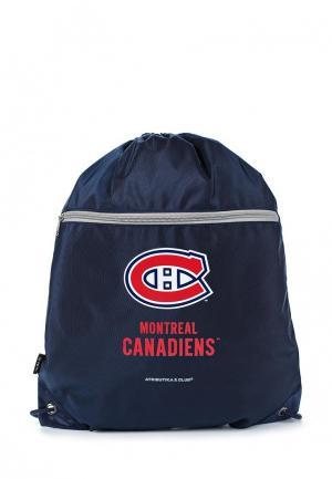 Мешок Atributika & Club™ NHL Montreal Canadiens. Цвет: синий