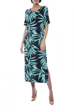 Платье Laurel. Цвет: синий, зеленый